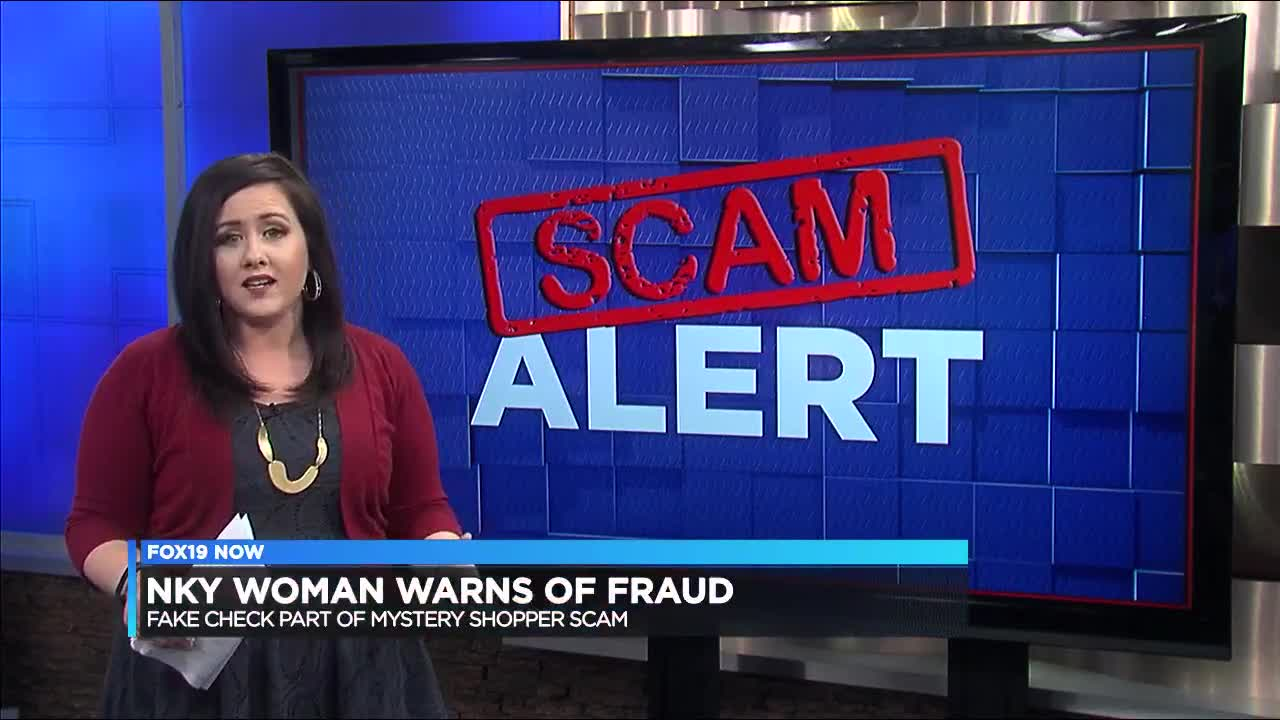 NKY woman warns of 'mystery shopper' scam that includes fraudulent