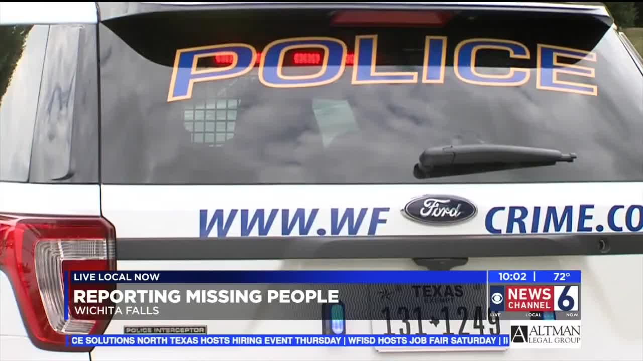 What police do when people are reported missing