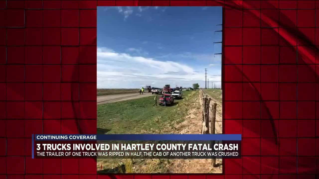 Officials release details on Hartley County wreck that left 1 dead