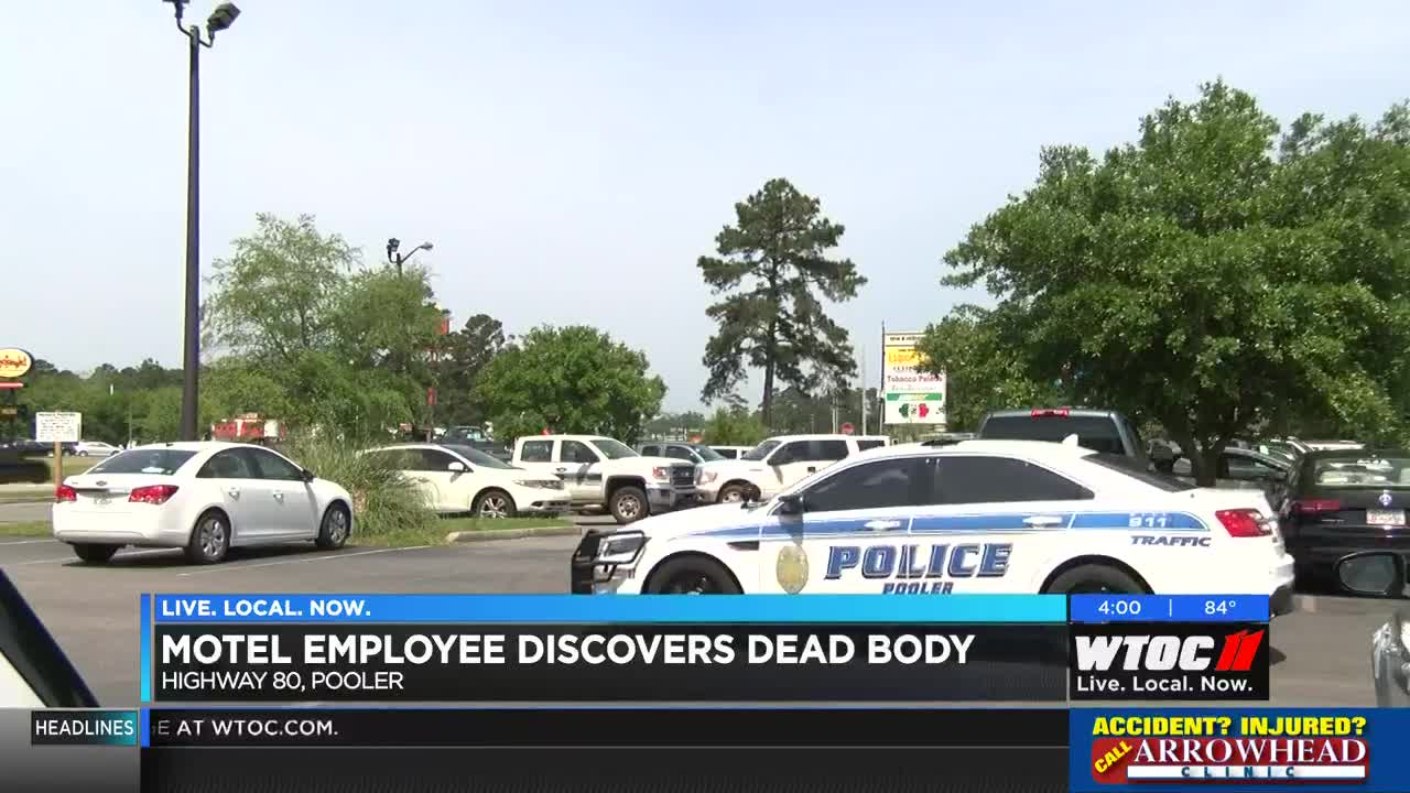 Pooler Police investigating after body found in motel