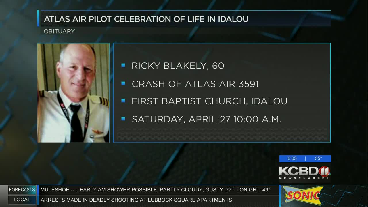 Atlas Air pilot to be remembered in celebration of life