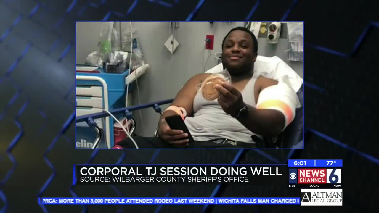 Vernon officer recovering following weekend shooting
