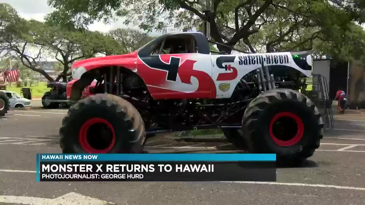 Crazy And Fun Monster Truck Show To Bring Monster Crowds To Aloha Stadium
