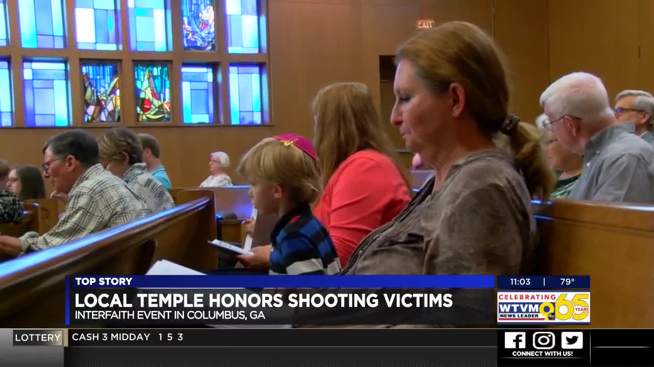 Columbus temple remembers life lost in synagogue shooting in