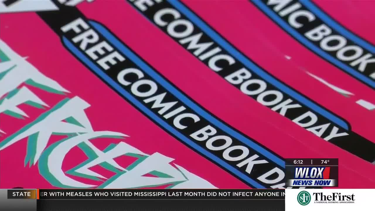 Long Beach shop draws art lovers with Free Comic Book day