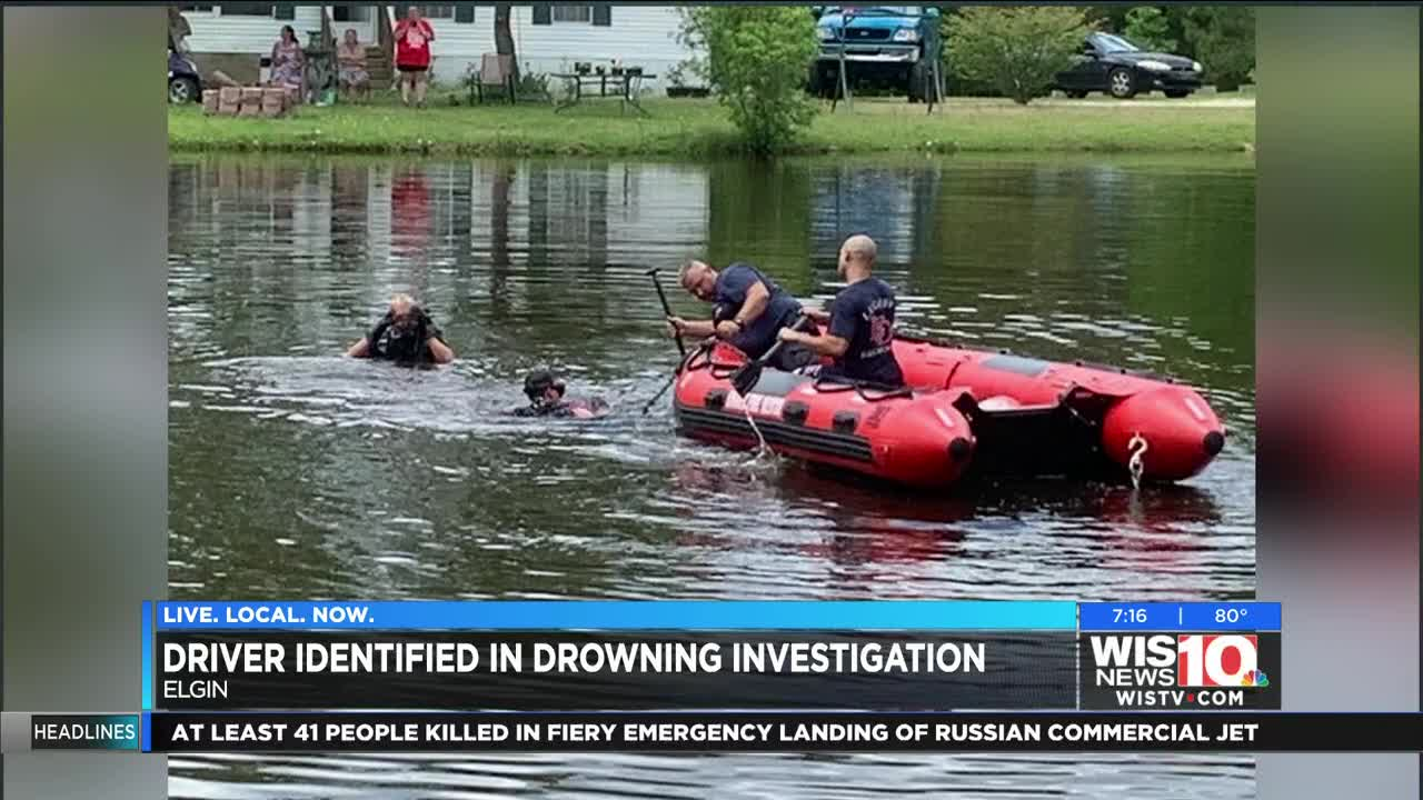 Body recovered from crashed car in SC pond, sheriff's office