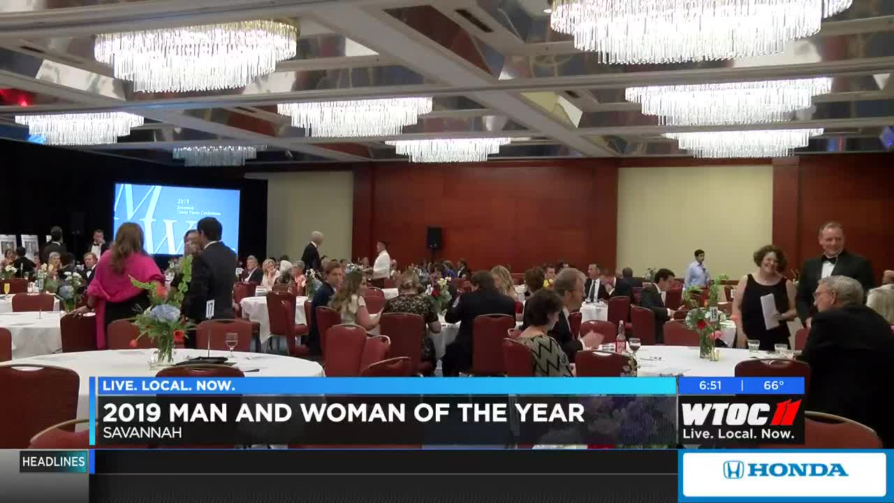 Man, woman of the year honored at Leukemia & Lymphoma Society gala