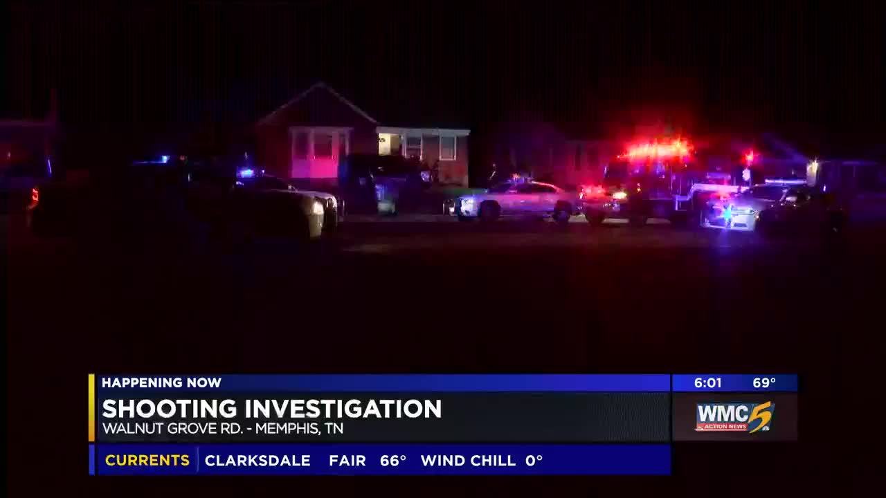 Police investigate shooting on Walnut Grove Rd