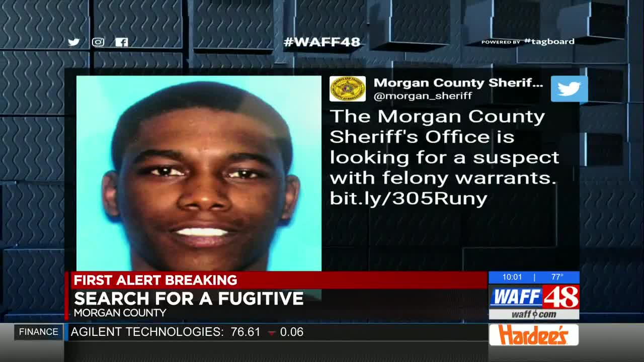 Man wanted in Morgan County police pursuit, multiple warrants