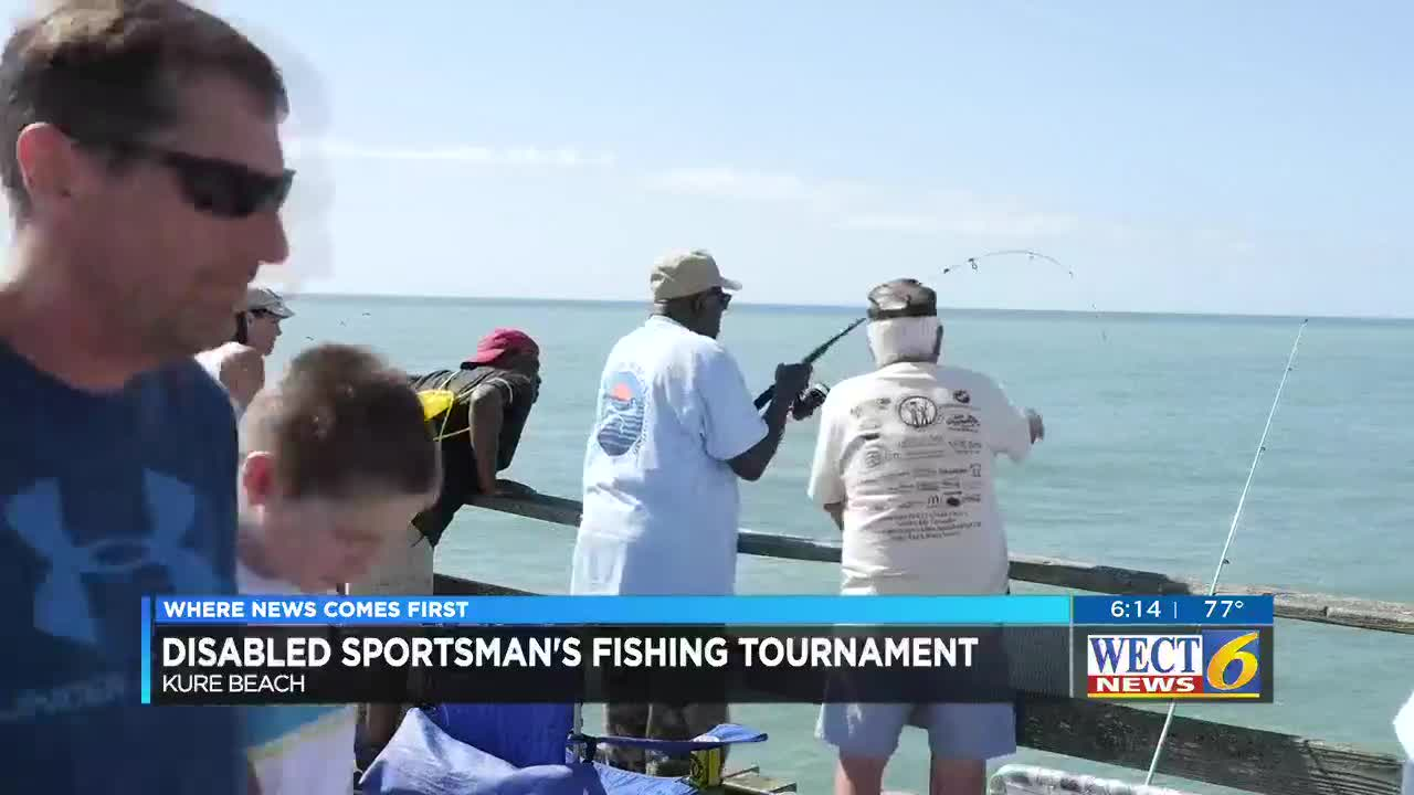 Reeling in a good time at disabled sportsman's fishing