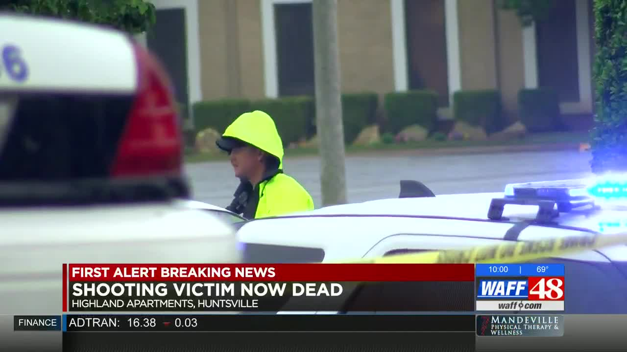 Woman charged in murder at Huntsville apartment complex