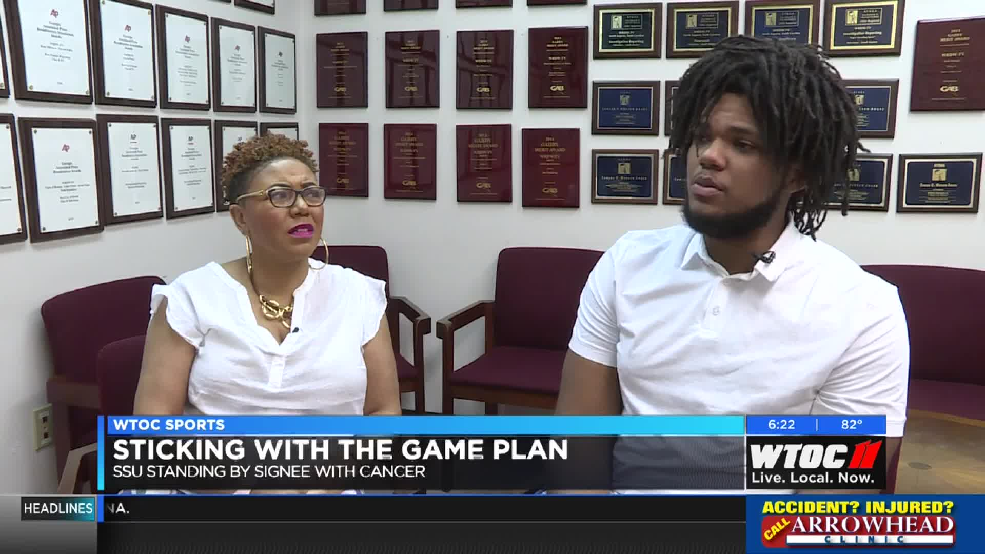 Stand by your man: SSU sticking with football signee fighting cancer