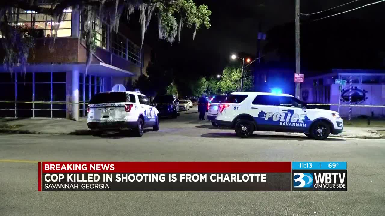 Sergeant killed in Savannah officer-involved shooting was Charlotte