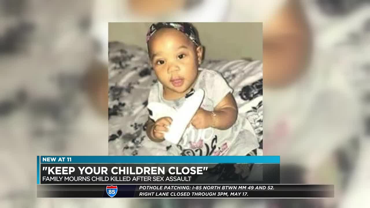 All I can see is her': Toddler dies after reported sexual assault at