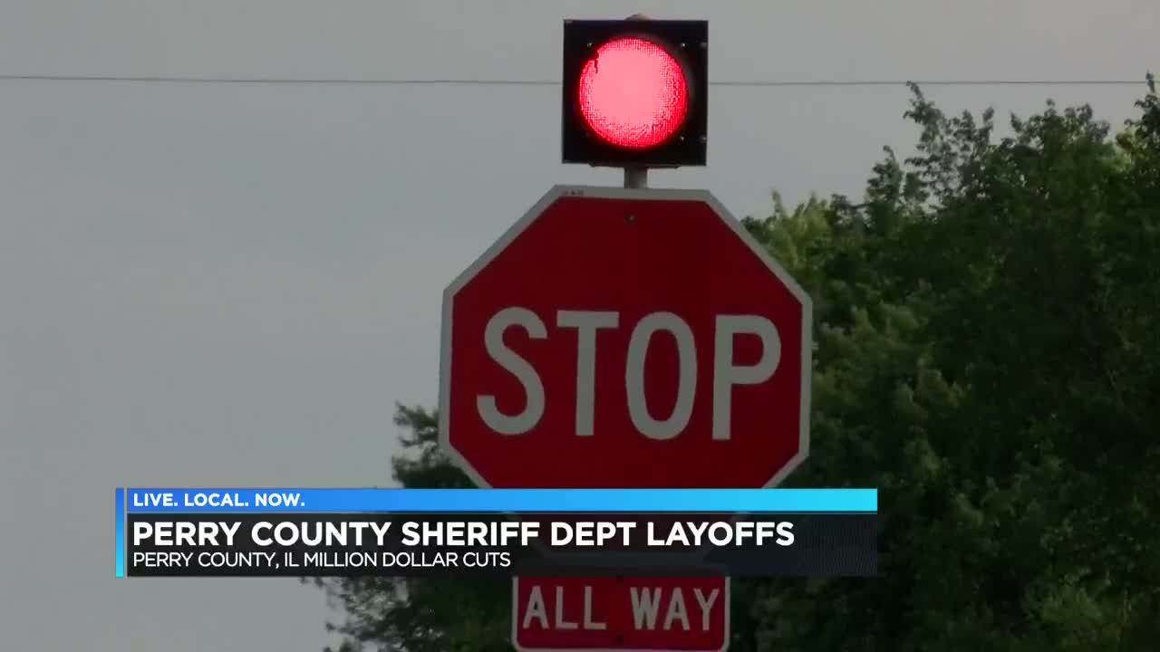 Perry County, IL Sheriff's Department to lay off nearly half its