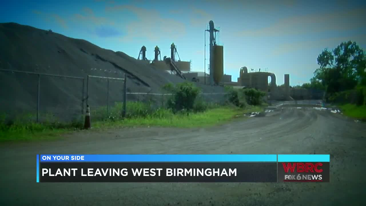 Construction company closes plant site, neighbors still want