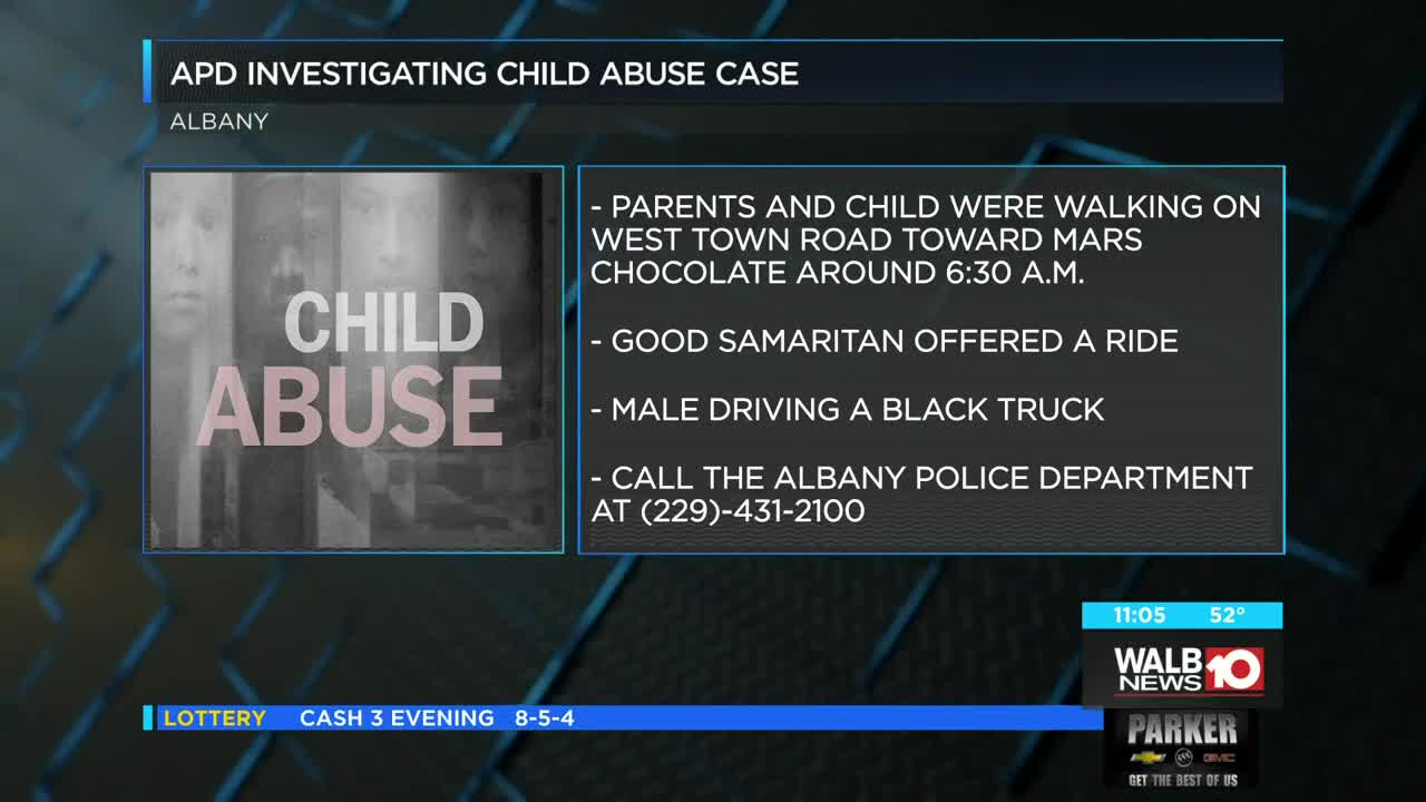APD: Investigation underway into 'heinous crime' of child abuse