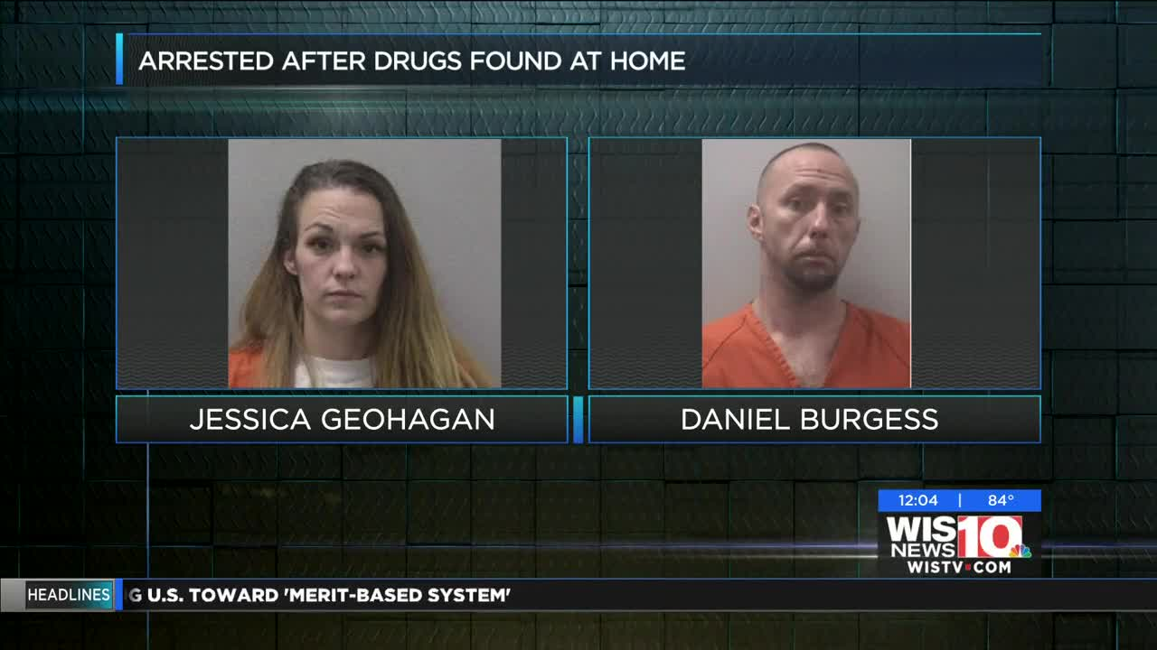 Man and woman arrested after drugs found in Gaston home
