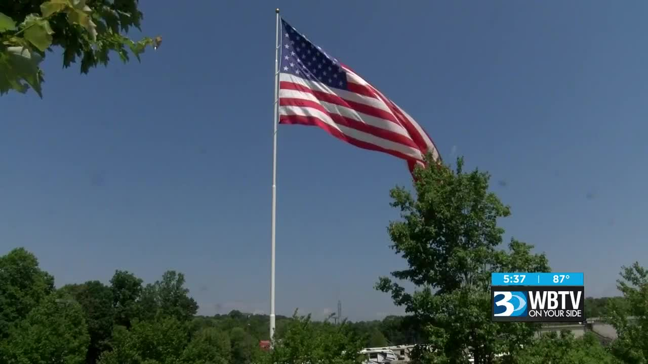 Statesville Files Lawsuit Over Business S Massive American Flag Ceo Challenges Rule