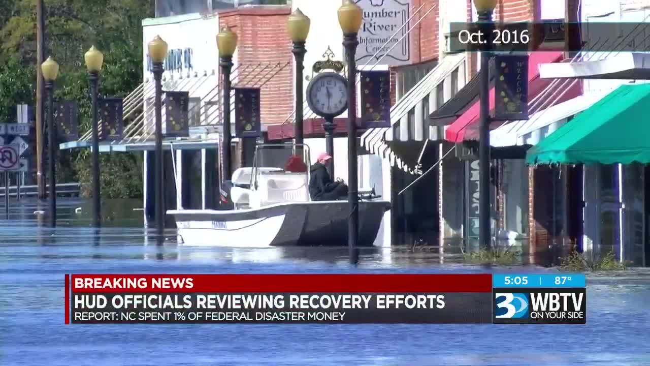 HUD Inspector General reviewing NC recovery efforts as new