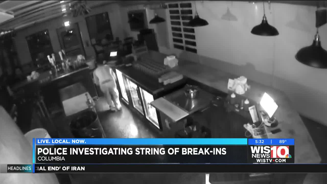 String of break-ins at Columbia business leaves owners vigilant