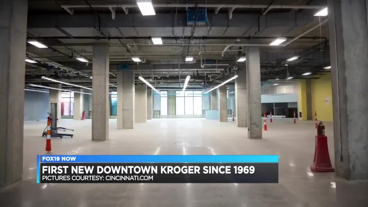 New downtown Kroger to open in September