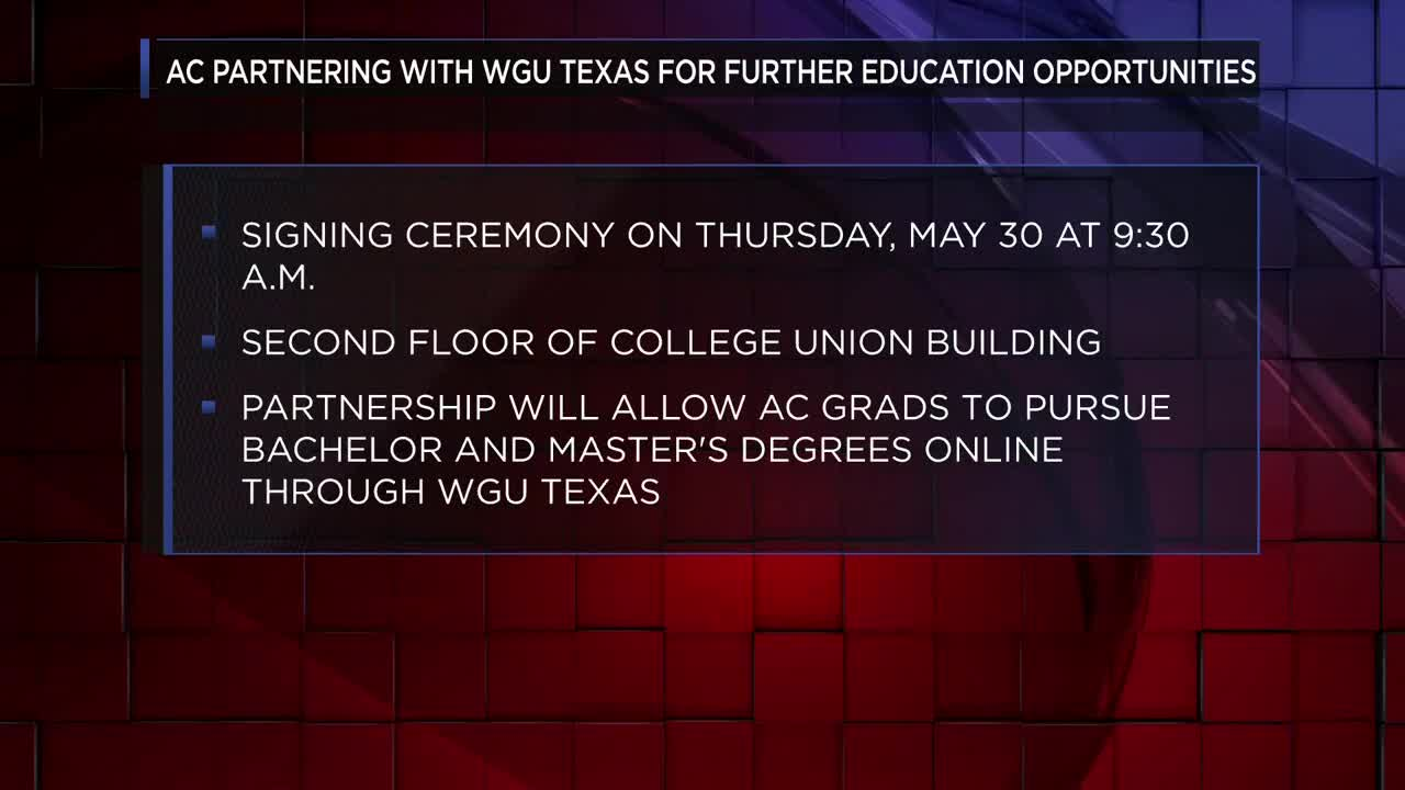 AC seeking to make university degrees 'accessible' with WGU partnership