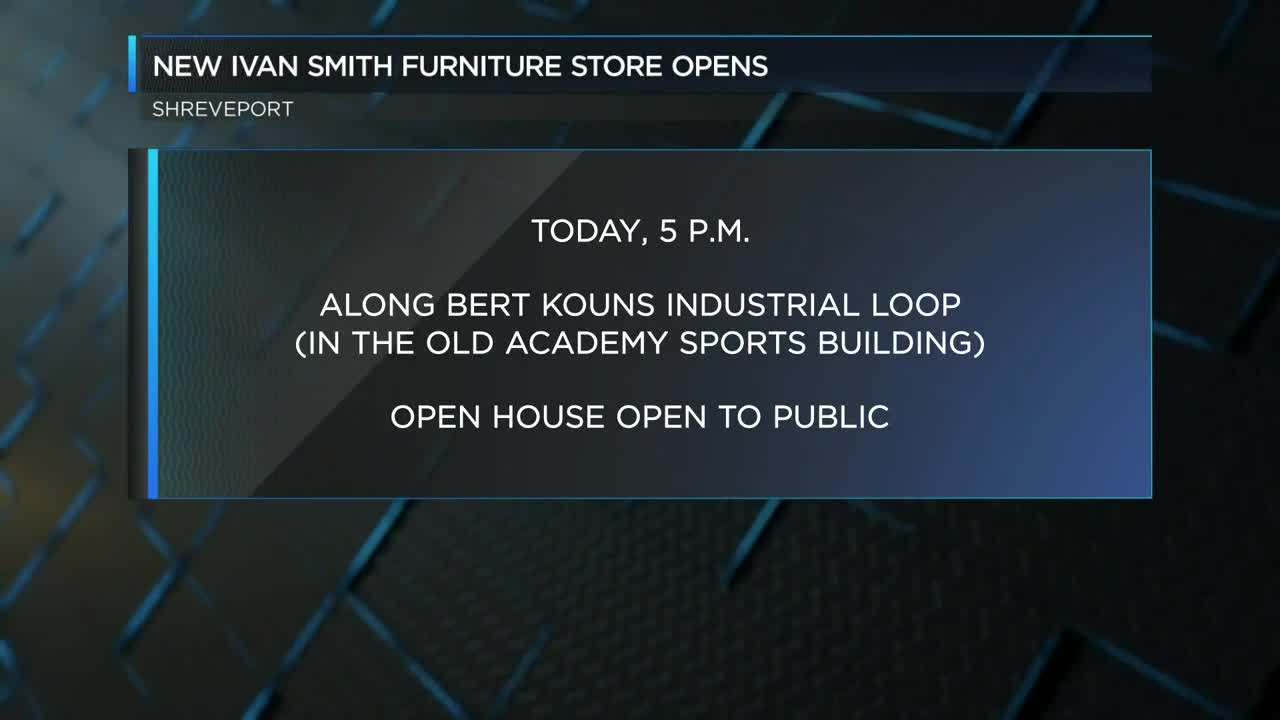 New Ivan Smith Furniture Store Opens In Shreveport