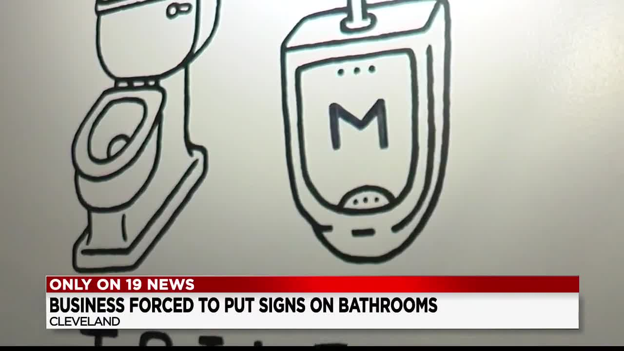 Cleveland restaurant threatened by state: Label your bathrooms, or