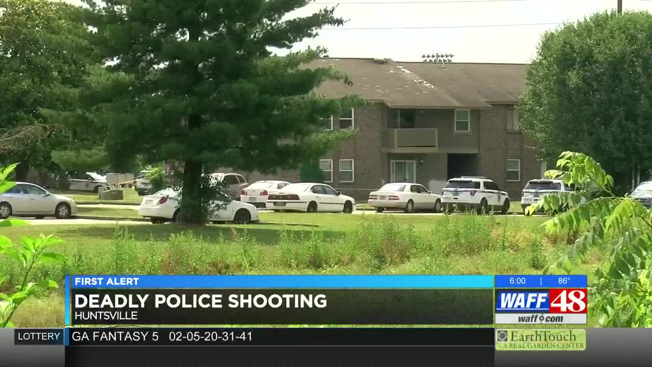 Armed woman dies after being shot by Huntsville police