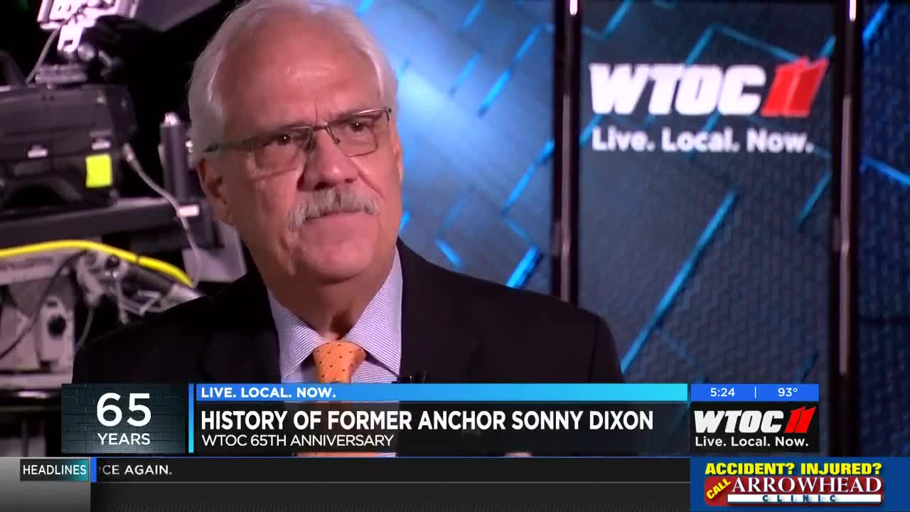 Celebrating 65 Years: History of former WTOC Anchor, Sonny Dixon