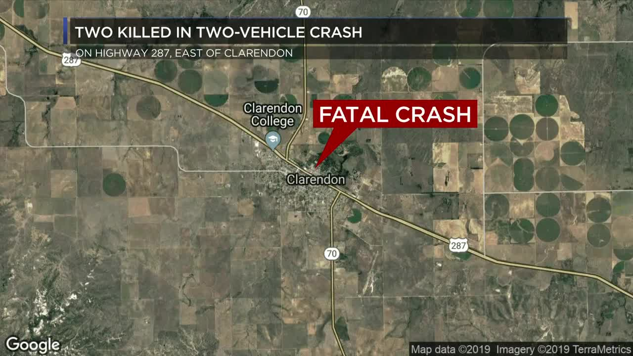 2 dead after wreck in Donley County