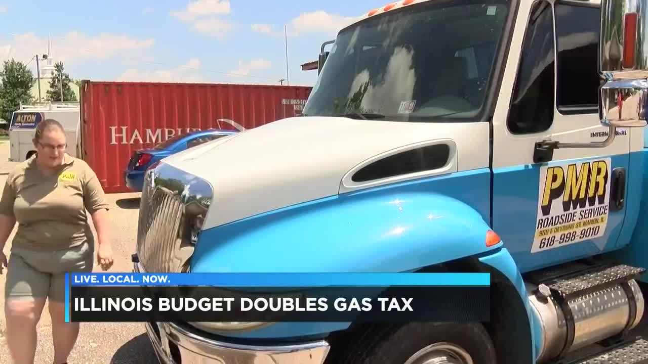 Businesses react as Illinois gas tax hike goes into effect