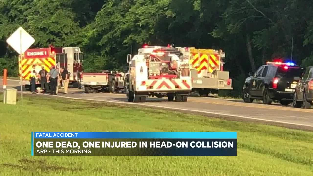 One killed, one injured in head-on collision in Arp