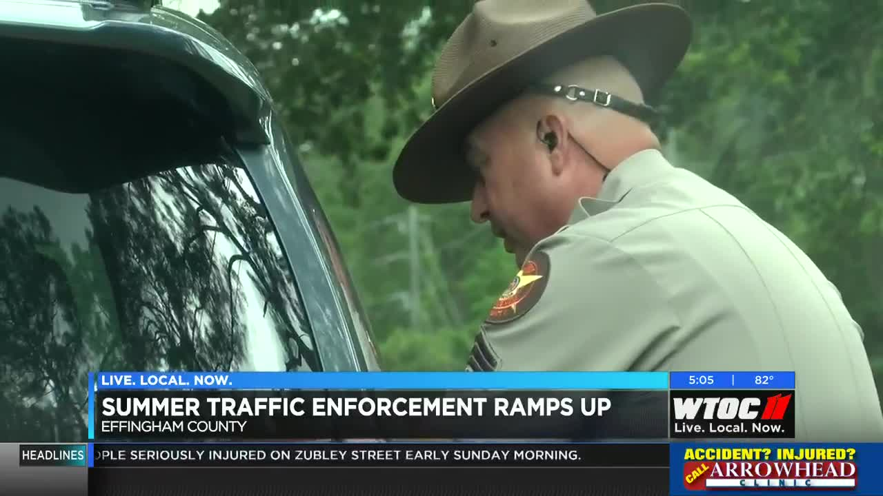 ECSO ramps up traffic enforcement as part of '100 Days of Summer