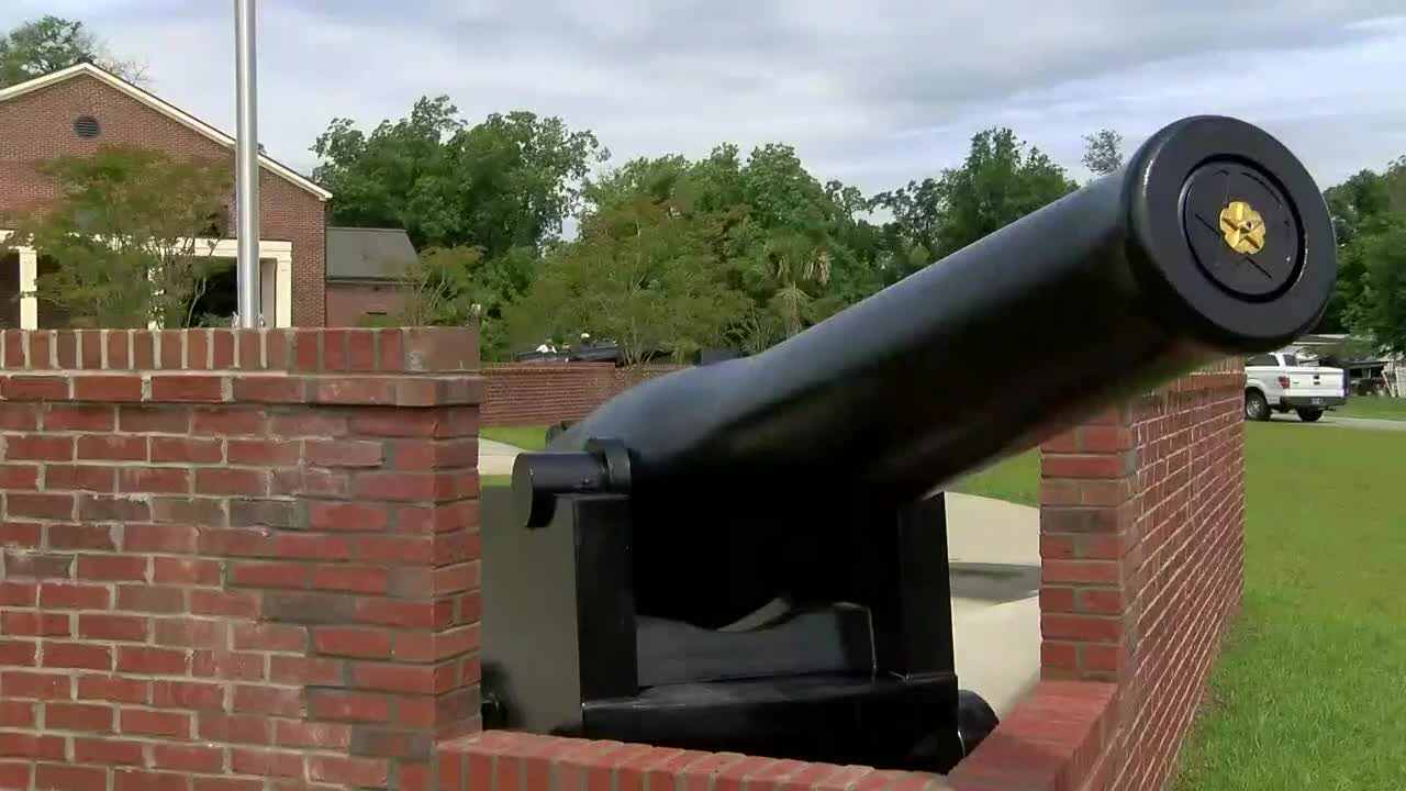 Historic cannons from Civil War ship returned to the Pee Dee