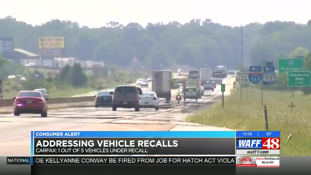 Millions of recalled vehicles on the roads