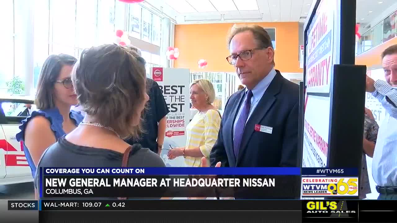 Headquarter Nissan Columbus Ga >> Headquarter Nissan In Columbus Welcomes New General Manager
