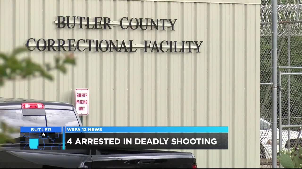 4 suspects in jail after Butler County homicide