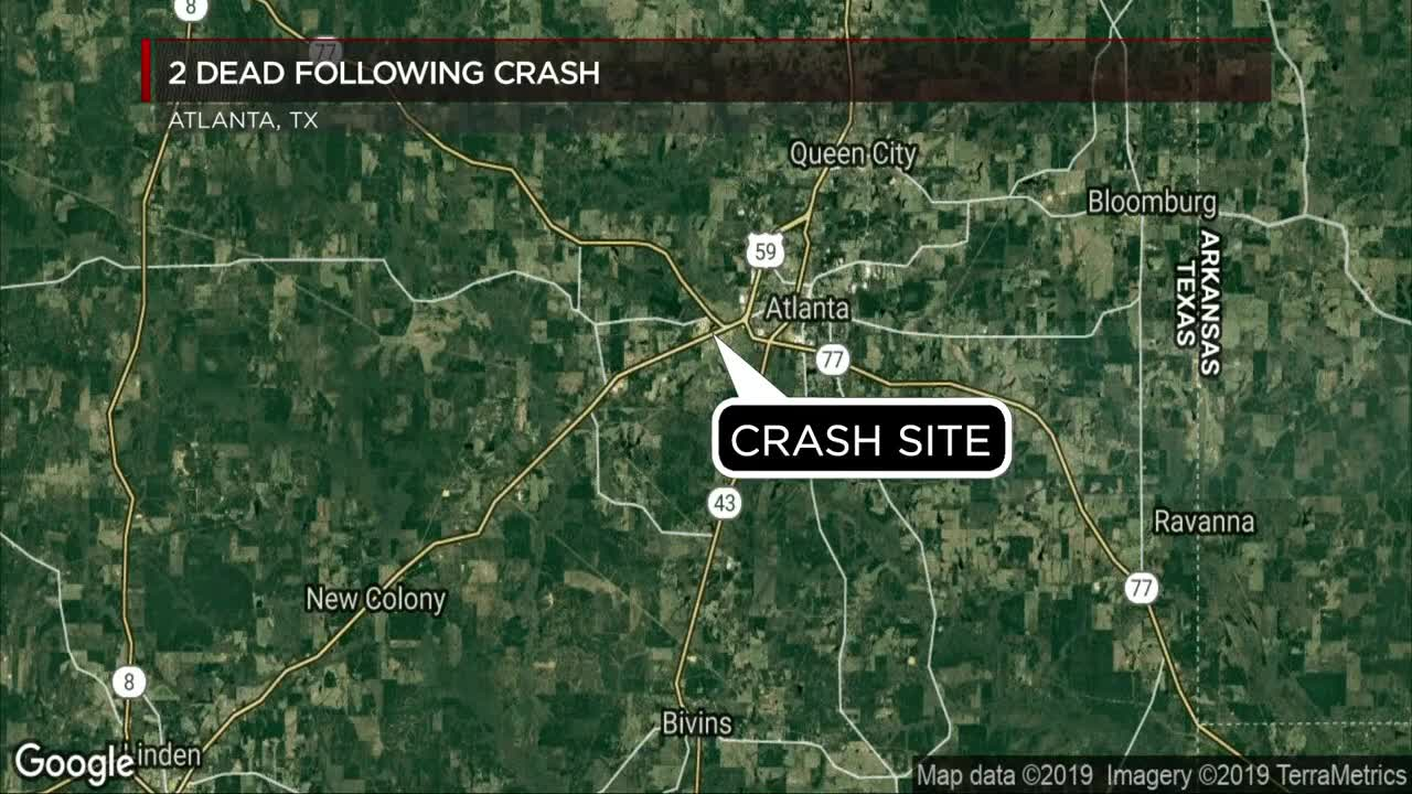 Two killed in fatal East Texas crash