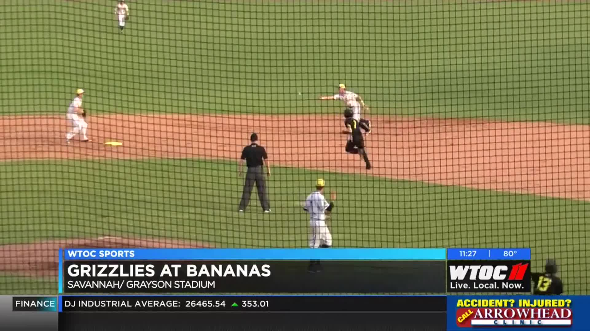 Bananas rally past Griz, take CPL's best record