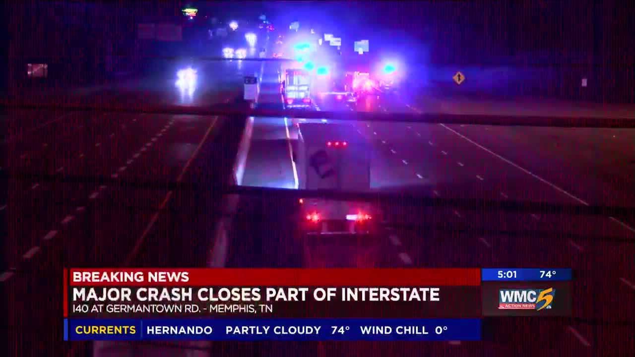 Driver killed in I-40 crash
