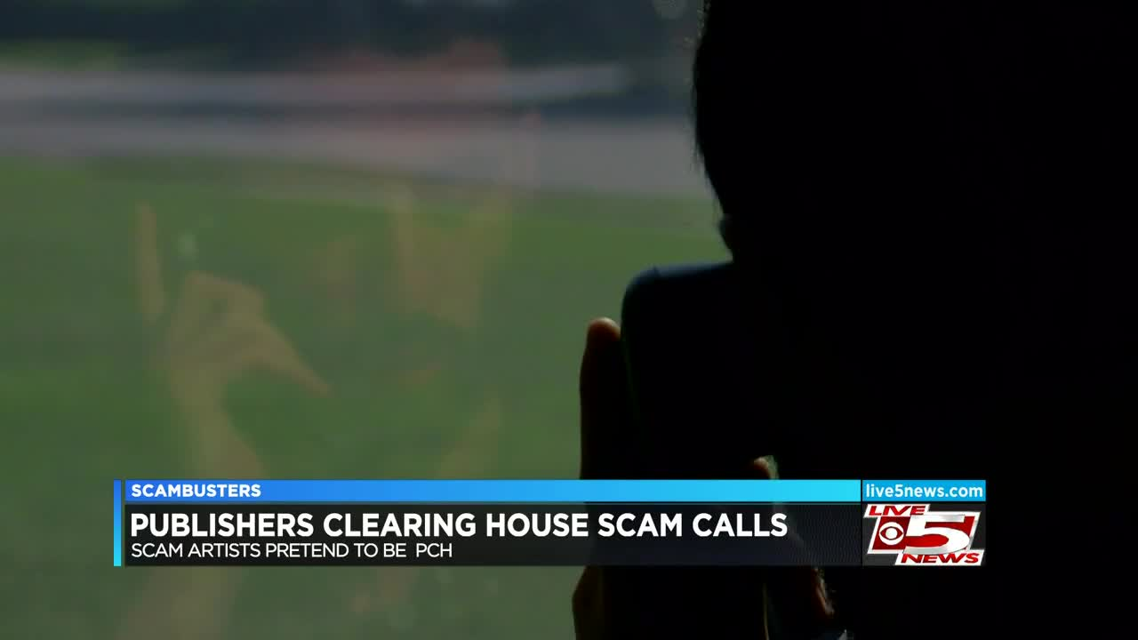 Live 5 Scambusters: Scam callers are pretending to be Publishers