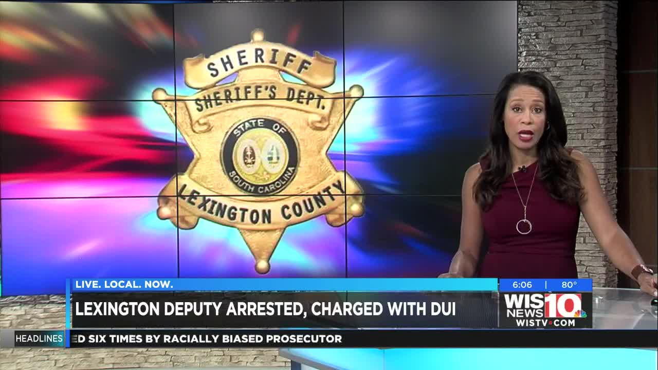 Lexington Co  deputy arrested for DUI, placed on paid leave
