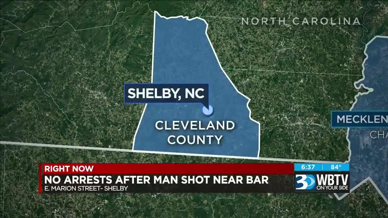 Man charged in deadly shooting outside Shelby bar
