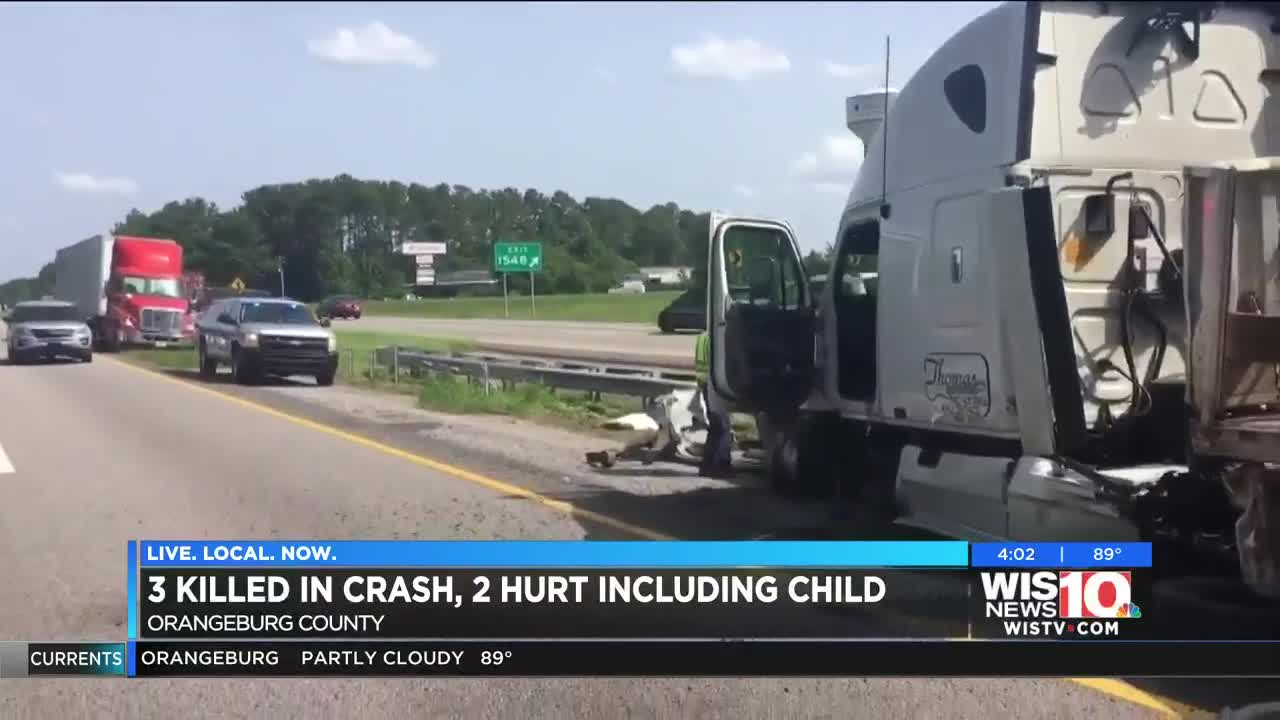 I-26 in Orangeburg Co  reopened following head-on collision that