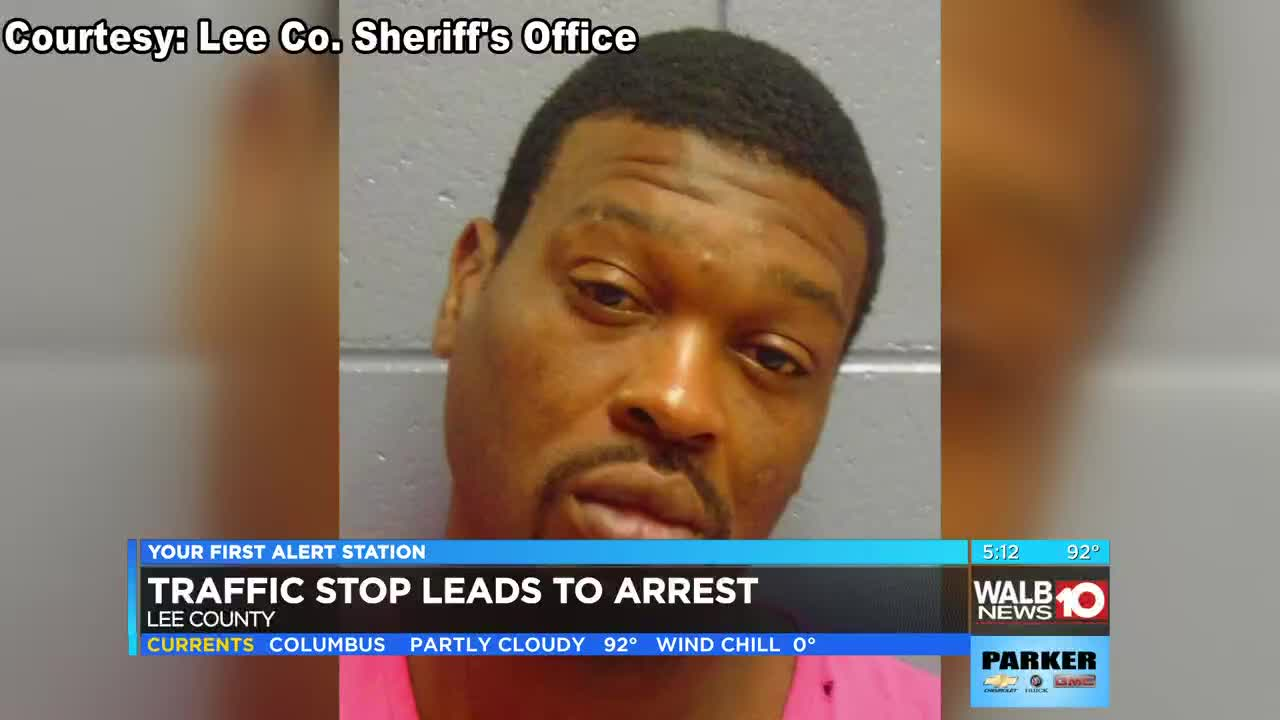 145 ecstasy pills discovered during Lee Co  traffic stop