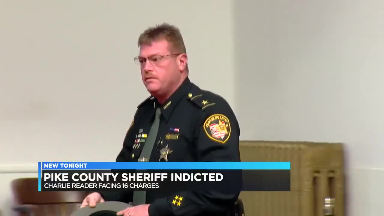 Pike County Sheriff Charles Reader indicted by grand jury on 16 charges