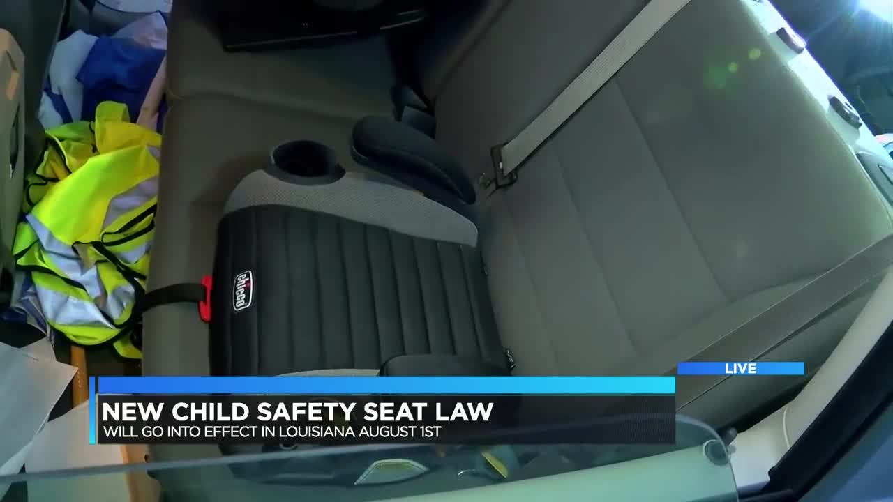 New Child Safety Seat Law Going Into Effect Aug 1