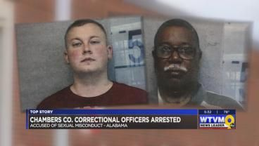 2 Chambers County correctional officers accused of sexual